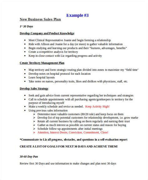 25 sales plan exles