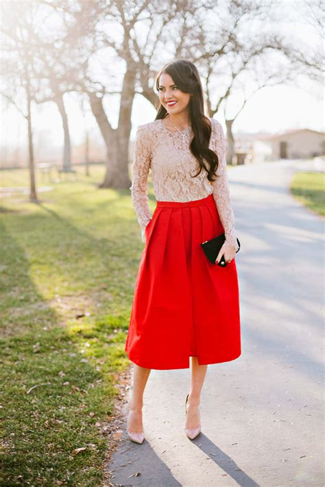 best dress to wear to a company christmas party pink peonies by rach parcell