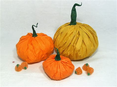 Paper Pumpkins - the essential packaging store tissue paper pumpkins