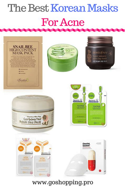 Top 8 Acne Products For by The 7 Best Korean Masks For Acne Korean Skincare