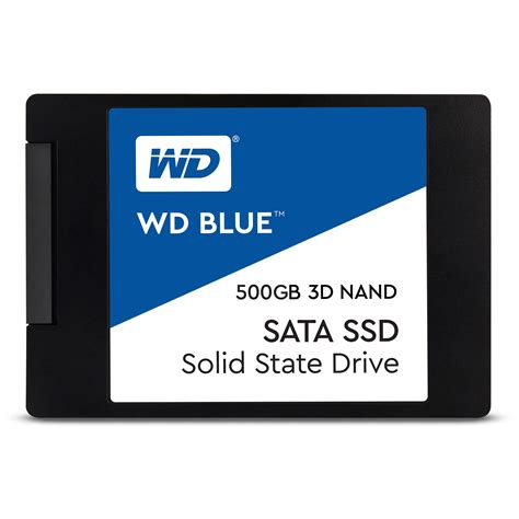 Wd 500gb wd 500gb blue 3d nand sata 2 5 quot ssd wds500g2b0a b h photo