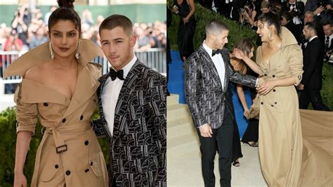 Nick Jonas Priyanka Chopra Priyanka Chopra And Nick Jonas Together At Met Gala 2017