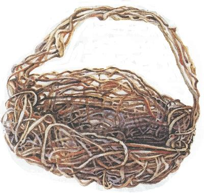 How To Make A Woven Basket Out Of Paper - weave a basket out of vines diy earth news