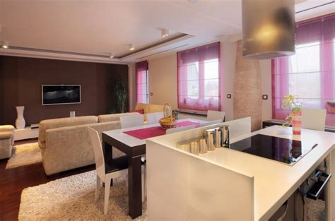 Connecting Dining Room And Kitchen 8 Chic And Modern Small Kitchen Designs By Modify Your Space