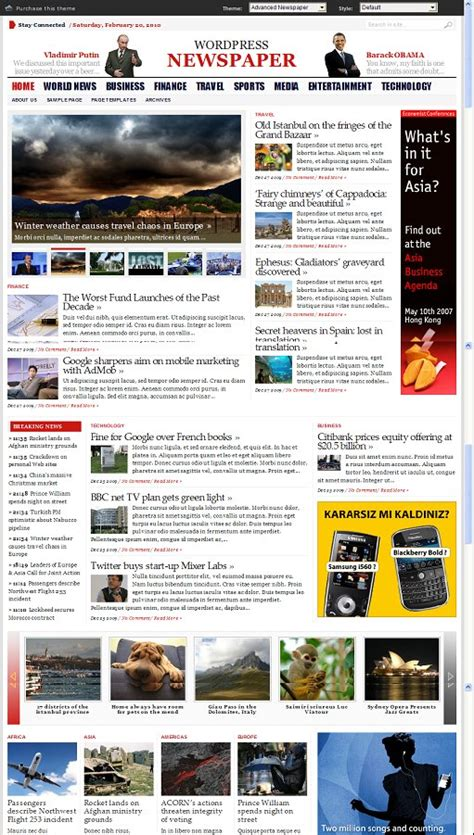 theme advanced newspaper gabfire advanced newspaper wordpress theme review and download