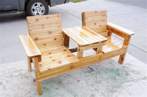 diy recycled pallet patio furniture projects recycled things