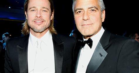 Brad Pitt George Clooney Do Entertainment Weekly by George Clooney Brad Pitt To In Proposition 8 Play