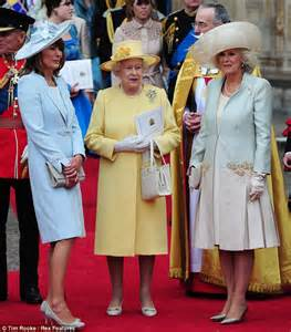 Meet the mothers carole mingling with the queen and duchess of
