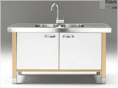 Kitchen Sink With Cabinet Free Standing Kitchen Sink Cabinet Hd Home Wallpaper