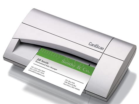 Business Card Scanner Software