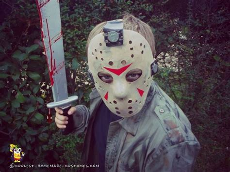 easy childs diy jason voorhees costume boys scary