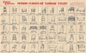 Styles Of Furniture by Period Furniture Yardage Chart Ma Maison De R 234 Ve