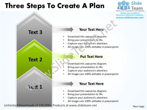 Business Powerpoint Templates 3 Step Marketing Plan Sales business power point templates three steps to create plan