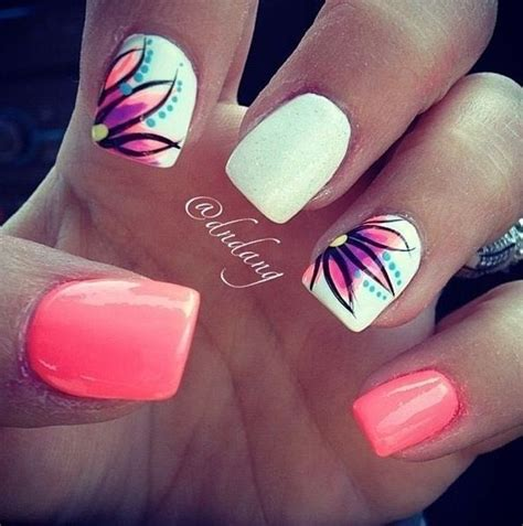 spring pattern nails 20 awesome spring summer nail art design ideas indian
