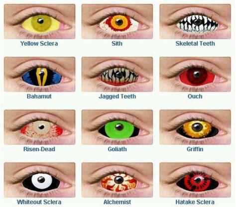 creepy colored contacts hallowen contact lens hallowen