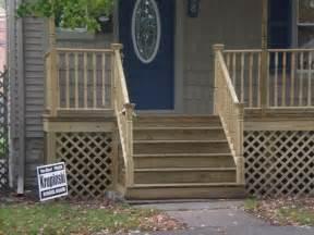 Wooden Front Stairs Design Ideas Wooden Porch Step Designs Studio Design Gallery Best Design