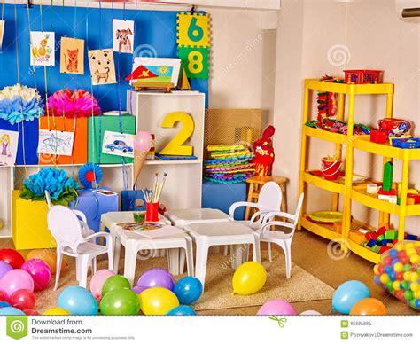 int 233 rieur d un jardin d enfants photo stock image 65585885