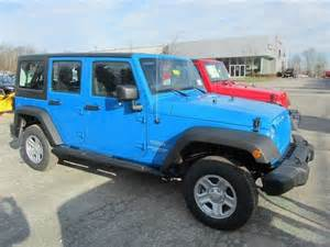 2012 jeep wrangler unlimited cosmos blue vehicles