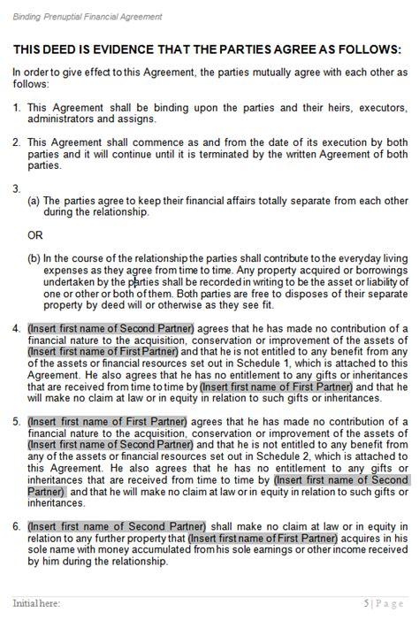 de facto agreement template de facto agreement template 28 images de facto