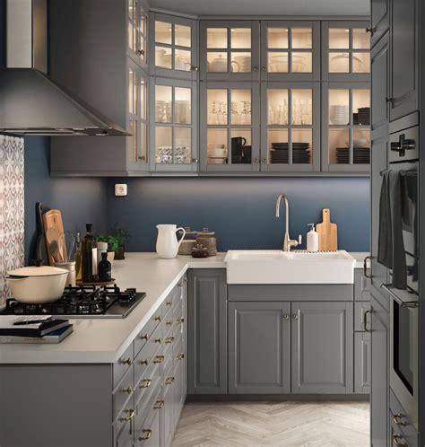 kitchen design ideas an ikea kitchen with fewer wall cabinets cuisine ikea kitchen metod brochure pinteres cuisine