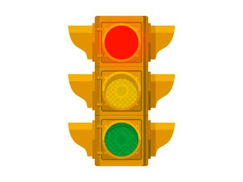 Great Animated Traffic Road Signs Gifs At Best Animations Animated Traffic Light