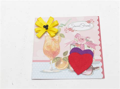 ways  decorate greeting cards  felt wikihow