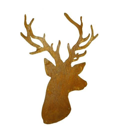 nordische gartendeko elch deko aus edelrost nordische