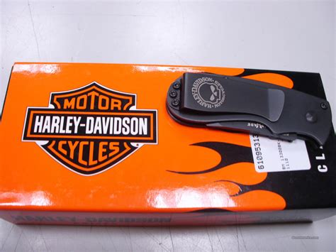 benchmade harley davidson knives benchmade 13300bk 1 harley davidson money clip for sale
