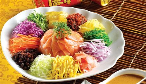 new year fish yu sheng prosperous yu sheng fish salad at singapore festival