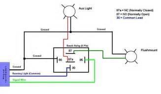5 pole relay wiring diagram fog lights