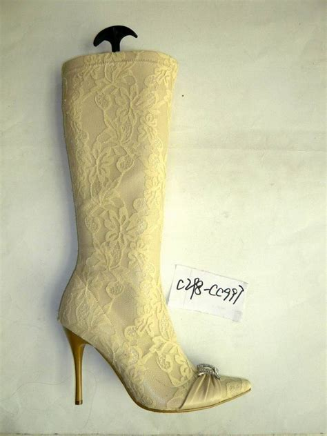 Ivory Schuhe by China Ivory Wedding Boots China Boots Shoes