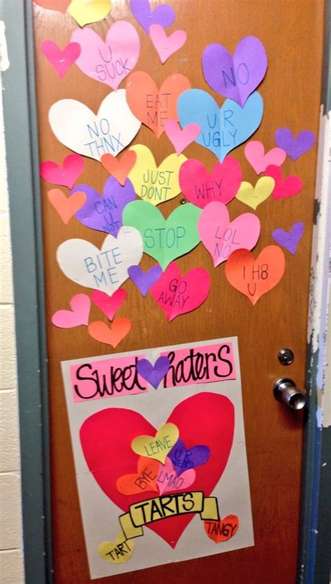 valentines day door decorations valentines day door decoration things i ve made