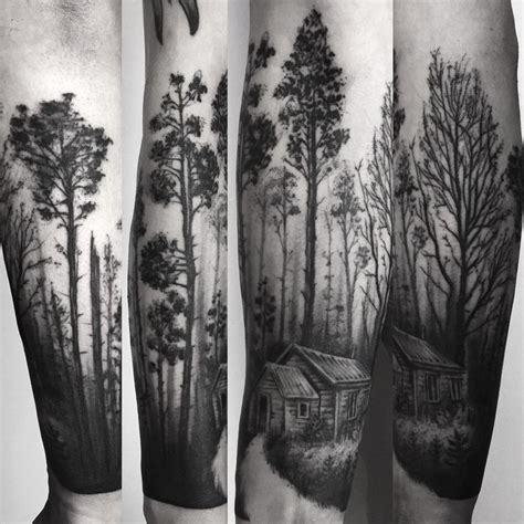forest tattoo designs best 25 forest tattoos ideas on forest