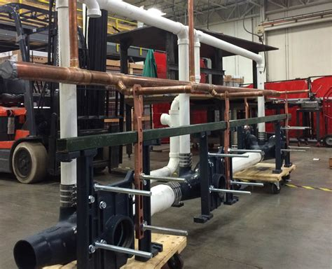Carrier Plumbing by Pre Fabrication Services Martin Petersen Company Inc
