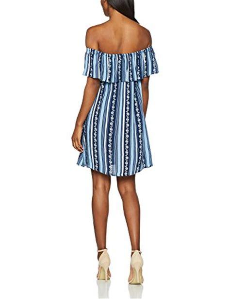 dorothy perkins s floral stripe bardot dress