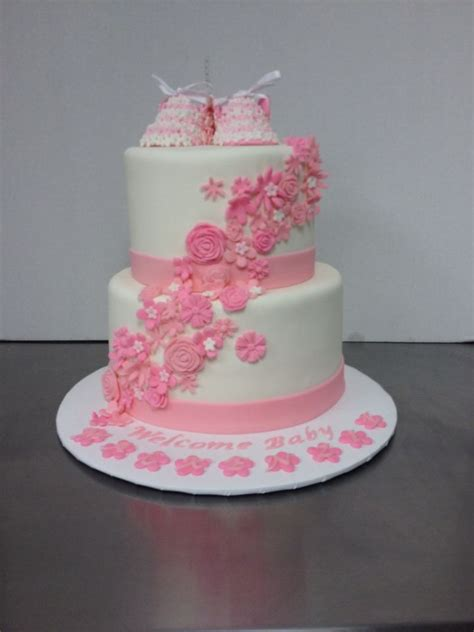 All White Baby Shower Cake by 59 Best Baby Shower Cakes Images On Baby