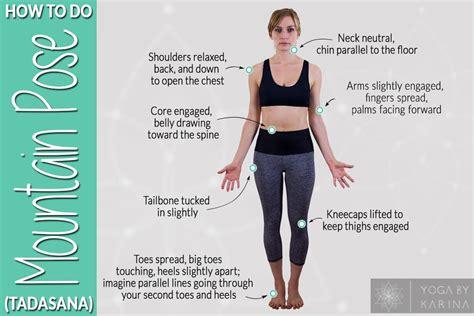 yoga tutorial    mountain pose tadasana yoga