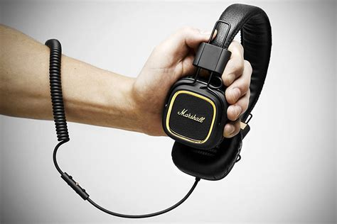 Kitchen Collectables by Marshall Major 50 Fx Headphones Mikeshouts