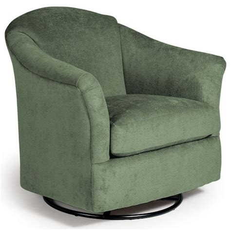 Upholstered Glider Chair best home furnishings chairs swivel glide darby swivel