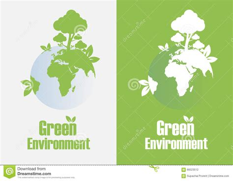 design green environment green environment stock illustration image 66523512