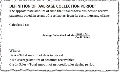 Credit Days Calculation Formula Liveplan Budgets Your Flow Lean Business Planning