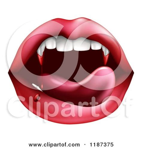 how to draw luscious licking lips apps directories green vire teeth with blood posters art prints by