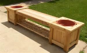 Planter Box Bench Plans by Diy Deck Planter Boxes Bench Plans Build Five