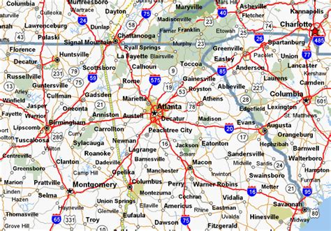 map of atlanta ga 31 model map of atlanta and surrounding cities swimnova