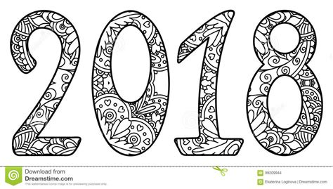 solidworks 2018 black book colored books black and white new year numbers 2018 with ornament stock