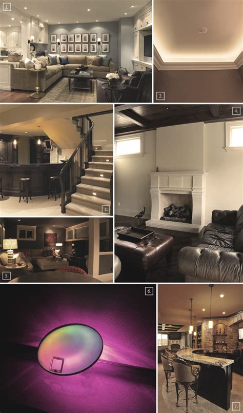 design guide basement lighting ideas and options home