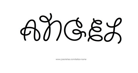 Angel Name Designs Www Pixshark Com Images Galleries