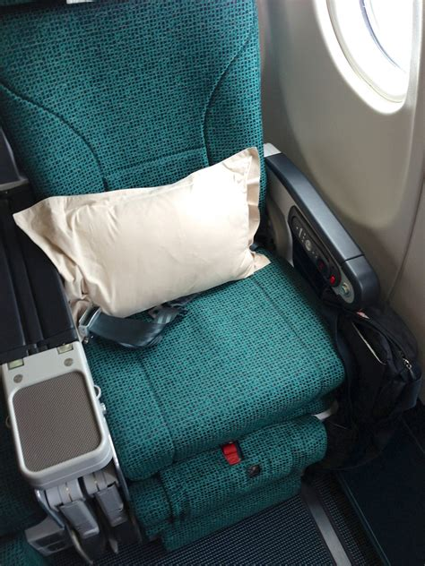cathay pacific economy comfort sydney to hong kong cathay pacific premium economy review