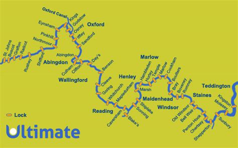 map of river thames in oxford river thames canoeing routes for canoeing and kayaking