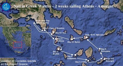 sailing greece routes wedding in amorgos island